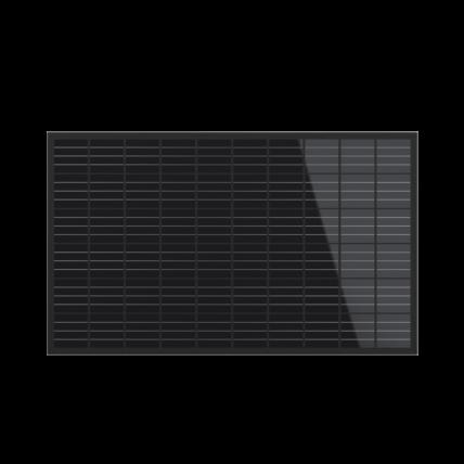 Standard-Photovoltaikmodul für den Garten, das Dach oder die Hauswand
